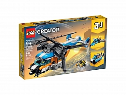 LEGO® 31096 Twin-Rotor Helicopter 3in1