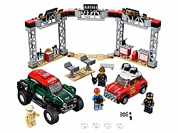 LEGO® 75894 1967 Mini Cooper S Rally e 2018 MINI John Cooper Works Buggy