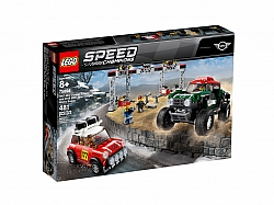 LEGO® 75894 1967 Mini Cooper S Rally and 2018 MINI John Cooper Works Buggy